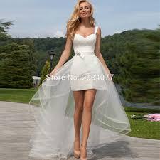 cheap wedding dresses short front long back wedding dresses in jax