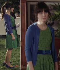 zooey deschanel new girl fashion wwzdw what would what i wore fancypants as seen on new girl ghost and lamb