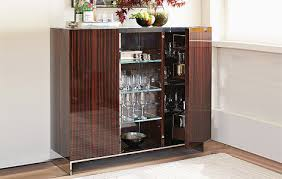 Folding Home Bar Cabinet Alluring Built In Bar Cabinets Home With Regard To For Idea 19