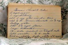 german chocolate flip cake recepten pinterest german