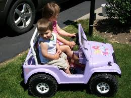 barbie jeep 2000 modified power wheels our metal framed jeep aka princess jeep