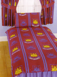 West Ham Double Duvet Cover Chelsea Fc Double Duvet Cover And Pillowcase Stripe Design Bedding
