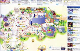 map usj 1 universal studios japan 2011 park map