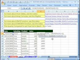create a report as a table in excel excel magic trick 403 march end quarterly comparative report
