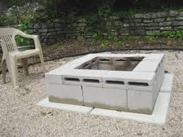 Square Firepit The Best Diy Backyard Pits To Make Your Summer Rock