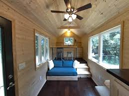 tiny house designs loft less 160 sq ft tiny house for people who hate climbing