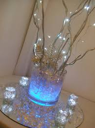 Lights In Vase Elegant Christmas Centerpiece Trends For 2012 Led Lights Faux Ice
