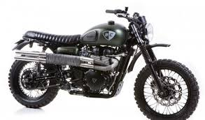 most expensive motocross bike outstanding triumph dirt bike by british customs