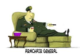Virtual Armchair General Donald Trump Warmonger In Chief