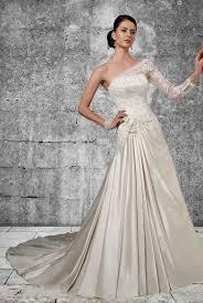 one shoulder wedding dress lace one shoulder wedding dresses reviewweddingdresses net