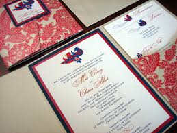 navy blue wedding invitation u2013 a vibrant wedding