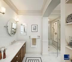 Bathroom Mirror Trim Ideas Bathroom Bathroom Baseboard Trim Ideas Crown Molding Tile