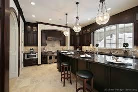 kitchens with dark cabinets kitchen ideas kitchen cabinets traditional dark wood ly black