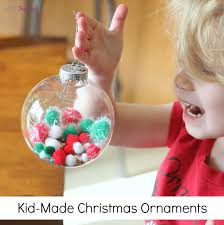 fill the kid made ornaments