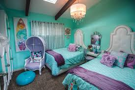 eye catching teenage bedroom paint ideas performing turquoise