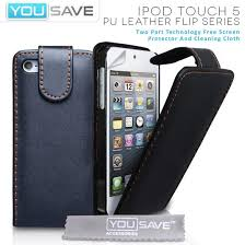 ipod touch 5th generation black friday accessories for apple ipod touch 5 5g pu leather black flip case