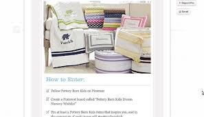 Pottery Barn E Commerce 5 Tips For Pinterest Pin To Win Contests Practical Ecommerce