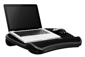Laptop Desk With Cushion Portable Laptop Desk Tablet Notebook Computer Bed Stand Pad
