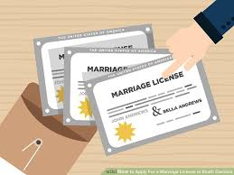 how to apply for a marriage license in south carolina 12 steps