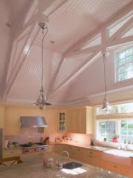 Lighting Cathedral Ceilings Ideas Vaulted Ceiling Lighting Kitchen Traditional With Cathedral