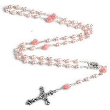 free rosary turquoise rosary holy soil medal cross catholic e