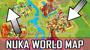 Fallout 2 World Map by Fallout 4 Nuka World Map Map Map Secret Locations U0026 Much More