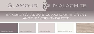 2017 colors of the year para paints