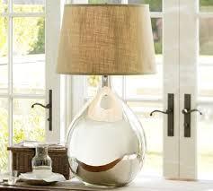 clift oversized mercury glass table lamp pottery barn