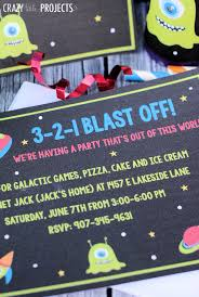space birthday party invitations u0026 party pack
