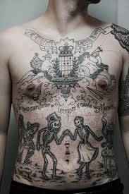 chest stomach by taiom vanguard custom tattoos inked