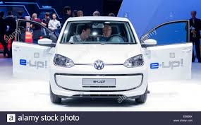 volkswagen electric car electric car e up of volkswagen ag 65th international motor show
