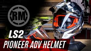 ls2 motocross helmets ls2 pioneer adv motorcycle helmet youtube