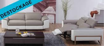 destockage de canapé canapé cuir relax delta destockage
