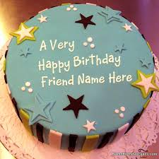 special birthday cake cake for special friends with name