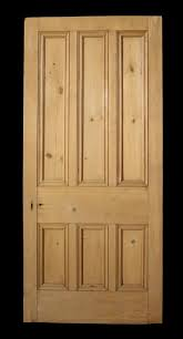 Exterior Pine Doors For Sale Six Panel Exterior Pine Door Salvo Uk Architectural