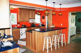 country kitchen with red cabinets decorating kitchen in red