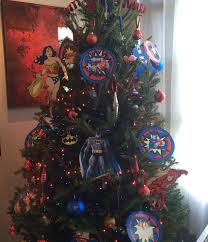 super hero christmas tree for the pooh and the netta we u0027ll