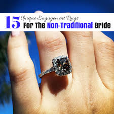 non traditional wedding rings unique engagement rings for the non traditional