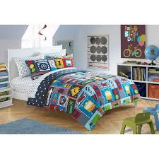 american toddler busy cars toddler 3 piece bedding set with bonus