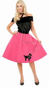 50 halloween costumes womens 50s poodle skirt costume mr costumes