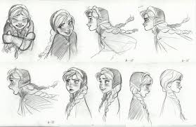Princess Anna Sketches Discovered Naebabe16