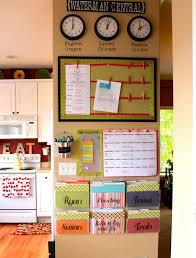 kitchen message center ideas 131 best home management command center images on