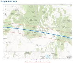 Bitterroot Mountains Map State By State Eclipse Totality Maps Blog Jimdoty Com