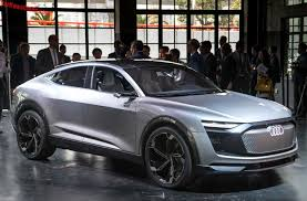 audi e tron sportback concept launched on the shanghai auto show