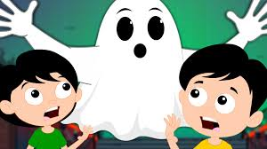 kids halloween clip art naughty ghost in my home kids tv scary nursery rhyme and kids song