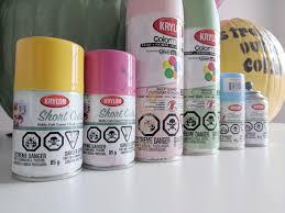 Krylon Short Cuts Spray Paint - diy pun kin decorating kiki khosla