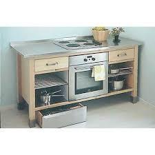 plaque d inox pour cuisine meuble cuisine pour plaque de cuisson inox pas cher homewreckr co