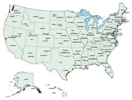united states map with states and capitals and major cities us map states with capitals us political2 to map state capitals