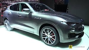 custom maserati interior 2017 maserati levante exterior and interior walkaround 2016