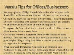Vastu Shastra For Office Desk Best Vastu Shastra Tips For Home And Business 2015